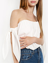 Women's Going out Casual/Daily Holiday Sexy Vintage Street chic Blouse,Floral Strap Sleeveless Polyester