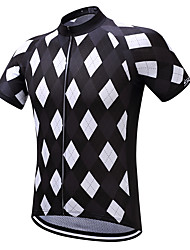 Surea Bike/Cycling Shirt / Sweatshirt / Jersey Men's Short SleeveBreathable / Moisture Permeability / Quick Dry / Reflective Cycling Jersey