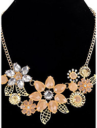 Pendant Necklaces Chain Necklaces Women's Girls' Jewelry Euramerican Resin Flower Friendship Elegant Party Movie Jewelry