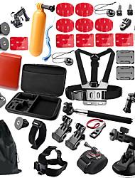 Для Все Xiaomi Camera Gopro 5 Gopro 4 Black Спорт DV SJ5000 SJCAM SJ4000Катание на лыжах Пешеходный туризм Повседневное использование