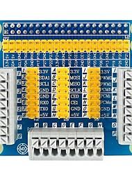 Adaptador multifuncional gpio placa de adaptador de pantalla para frambuesa pi 3