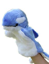 Куклы Дельфин Плюшевая ткань