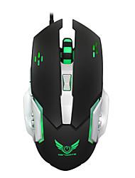 Macro définition jeu souris 3200dpi souris souris souris souris usb 6 bouton filaire ordinateur optique gamer pc pour ordinateur portable