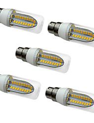 5W LED лампы типа Корн T 80 SMD 5730 1000 lm Тёплый белый Белый AC 220-240 V