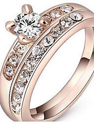 Women's Ring Jewelry Basic Stainless Steel / Iron Jewelry 147 Birthday Dailywear Daily 1 pc