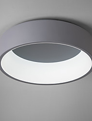 Montage du flux ,  Contemporain LED Chic & Moderne Peintures Fonctionnalité for Style mini Ampoule incluse MétalSalle de séjour Chambre à