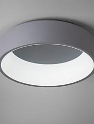 Montage de Flujo ,  Moderno / Contemporáneo LED Moderno Pintura Característica for Mini Estilo Bombilla incluida MetalSala de estar
