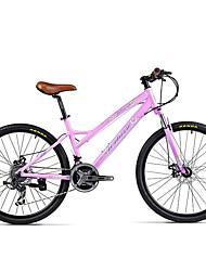 Bicicleta de Montaña Ciclismo 21 Velocidad 26 pulgadas/700CC Doble Disco de Freno Horquilla de suspenciónCuadro de Aleación de Aluminio
