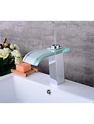 Mittellage WasserfallGalvanisierung , Waschbecken Wasserhahn