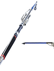Anmuka 1.5m 1.8m 2.1m 2.4m 2.7m Automatic Fishing Rod (Without Reel) Sea River Lake Pool Fishing Pole Device  Stainless Steel Hardware