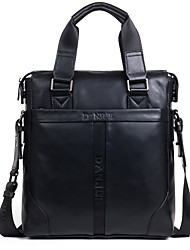 Cowhide Handbag Men Business Shoulder Bag Classic Men Bag Vertical Luxury Messenger Bag Male D3041-3