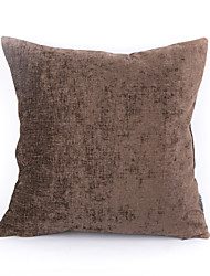 Chenille Pillow Case-Coffee