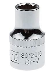 Bouclier en acier 12,5 mm série métrique doublure 12 angles standard 10 mm / 1 support