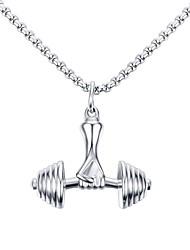 Homme Pendentif de collier Colliers Déclaration Forme Géométrique Bijoux Acier inoxydable Acier au titane Original Logo Pendant