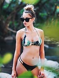 Femme Bandeau Bikinis Rubans