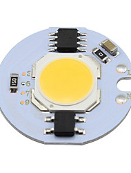 5w cob led light cob chip 220v smrat ic pour diy downlight spot light ceiling lightg chaud / cool blanc (1 pièce)