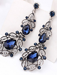 Drop Earrings Women's Girls' Euramerican Elegant Luxury Hollow out Rhinestone Droplets Movie Jewelry Party Daily Business