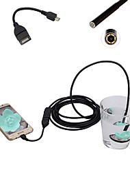 Android Mobile Phone Endoscope 5.5mm Lens 0.3 Mega Pixel HD Waterproof LED Computer Universal 3m Long Flexible Cord