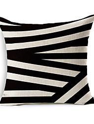 1 Pcs Irregularity Geometry Stripe Pillow Cover Classic Sofa Cushion Cover Home Decor Pillow Case