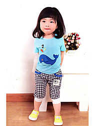 Unisex Fashion Sets,Cotton Summer Clothing Set