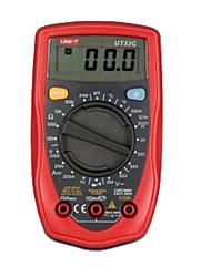 Uni-t ut33c mini multímetro digital de bolso 1 conjunto
