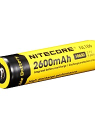 2pcs nitecore nl1826 2600mAh 3.7v 9.6wh 18650 литий-ионный аккумулятор