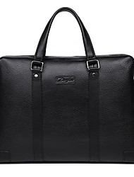 Men Business Briefcase Cowhide Handbag Shoulder Bag High Quality Brand Computer Laptop Bag Totes D90080-3