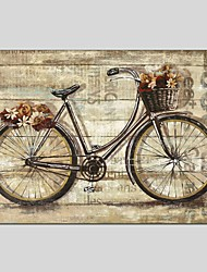 Oil Paintings Leisure Style Canvas Material With Wooden Stretcher Ready To Hang Size70*70CM .