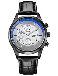 TINACE Men's Fashion Watch Wristwatch Luxucy Elgant Unique Creative Cool Watch Quartz Business Classic PU Band Watches