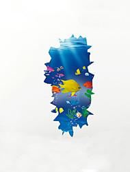 Animals Cartoon 3D Wall Stickers Plane Wall Stickers 3D Wall Stickers Decorative Wall Stickers Fridge Stickers 3D,Vinyl MaterialHome