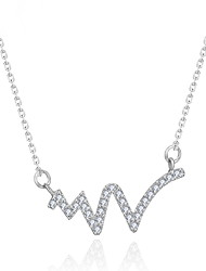 Women's Pendant Necklaces Jewelry Jewelry Alloy Unique Design Fashion Euramerican Jewelry ForWedding Party Birthday Congratulations