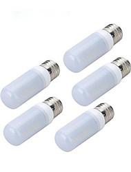 4W LED a pannocchia 56 SMD 5730 200-300 lm Luce fredda AC 220-240 V 5 pezzi