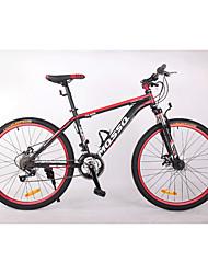 Mountain Bike Cycling 21 Speed 26 Inch/700CC BB8 Double Disc Brake Suspension Fork Aluminium Alloy Frame Hard-tail Frame Anti-slip