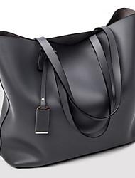 Women Shoulder Bag PU All Seasons Baguette Zipper Black Blue