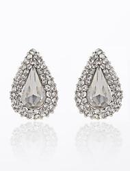 New-style Luxury Shining Water Drop Earrings