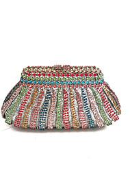 Women Stylish Rhinstone  Event Clutch Evening Bag