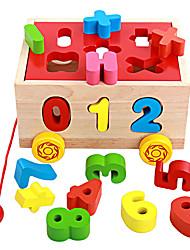 Costruzioni Puzzle di legno per il regalo Costruzioni Giocattoli innovativi e scherzi Legno Da 2 a 4 anni Da 5 a 7 anni Giocattoli