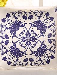 1 Pcs High Quality European Style Flowers Pillow Cover Emulation Silk Pillow Case