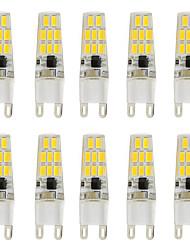 3W Luces LED de Doble Pin T 16 SMD 5730 260 lm Blanco Cálido Blanco Fresco V 10