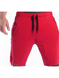 Men's Mid Rise strenchy Active Shorts Pants,Active Relaxed Solid