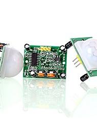 Hc-sr501 настроить ИК-пироэлектрический инфракрасный датчик движения датчика движения (3 шт.)