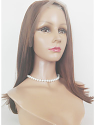 Long Length Silky Strsight Lace Front Wig Eurasian Hair Synthetic Lace Front Wig  Fur Woman