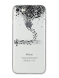 Назначение iPhone X iPhone 8 Чехлы панели С узором Задняя крышка Кейс для Мультипликация Мягкий Термопластик для Apple iPhone X iPhone 8