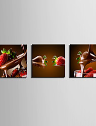 E-HOME Stretched Canvas Art Tempting Chocolates  Decoration Painting One Pcs