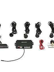 KKmoon 4 Sensors Parking Assist System Car Parking Sensor Reverse Radar Alert Wireless LCD Display