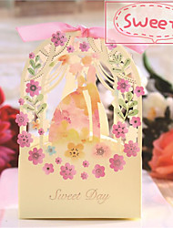 20 Piece/Set Candy Box/Wedding Sugar Box/Flower Sugar Box