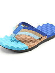 Men's Slippers & Flip-Flops Light Soles Spring Summer Outdoor Casual Flat HeelBlack/Yellow Black/Red Blue Walking Shoes