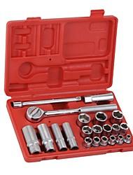 Jtech 21 conjuntos de conjunto de ferramentas métricas da série 3/8 / 1 set