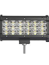 54w-row 5400lm spot de inundação do fascio led barra de luz de trabalho offroad led driven lampada 12 v 24 v por camion suv atv 4x4 4wd