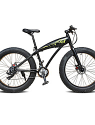 Snow Bike Cycling 24 Speed 26 Inch/700CC SAIGUAN EF-51 BB5 Disc Brake Suspension Fork Aluminium Alloy Frame Hard-tail FrameAnti-slip
